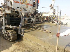 Roller Compacted Concrete   King Abdullah Port - Saudi Readymix
