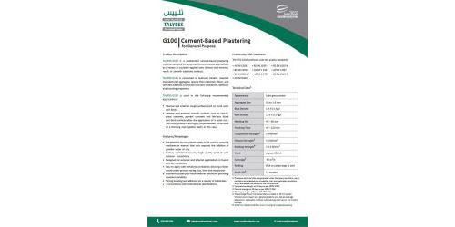 Talyees Technical Data Sheet